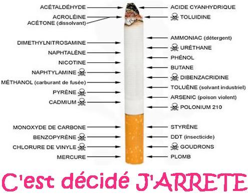 j'arrete de fumer